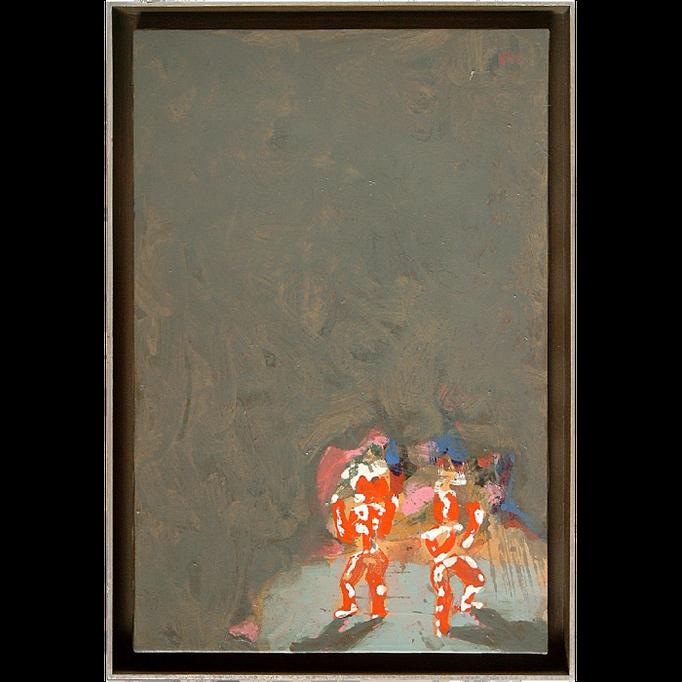 2000, Zauberer, 60x40, Acryl-Leinwand