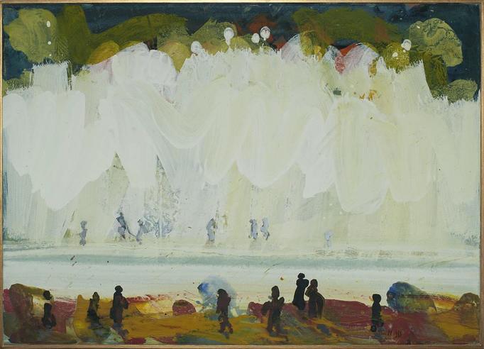 2012, anderes Ufer, 50x70, Acryl-Leinwand