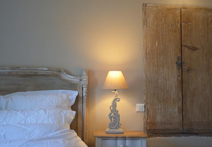 Chambre avec vue sur le jardin - Chambre d'hôtes Provence
