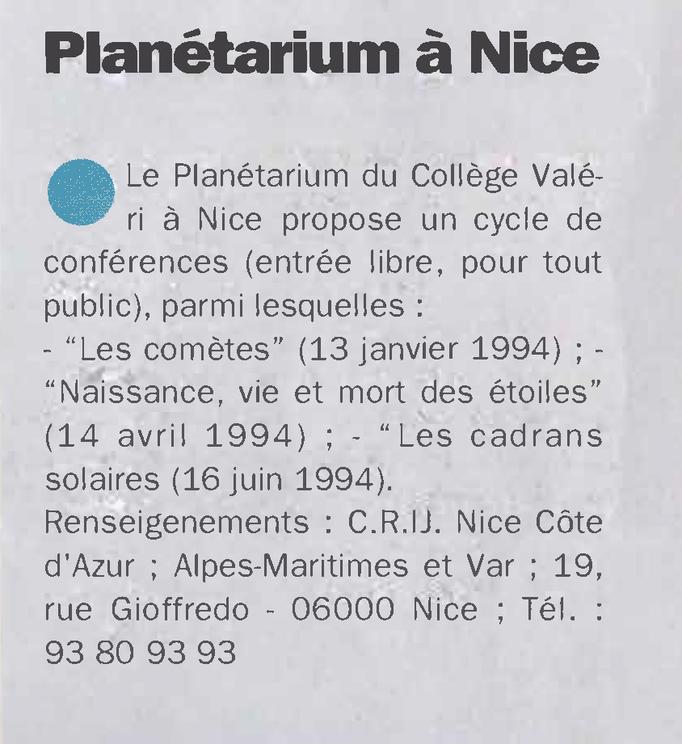 1994-12 LE MAGAZINE DE LA VILLE DE NICE N°14 p9