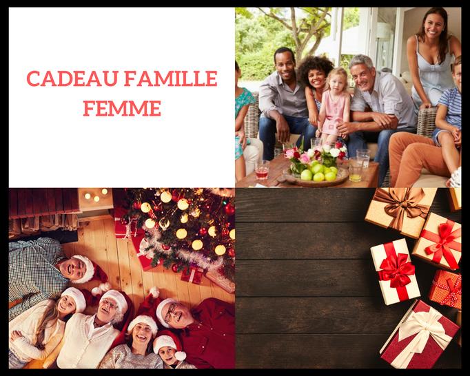 Idée cadeau membre de la famille femme