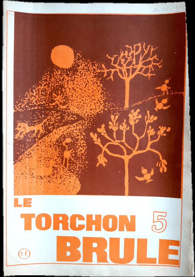 Le Torchon brûle, n°5 - couverture