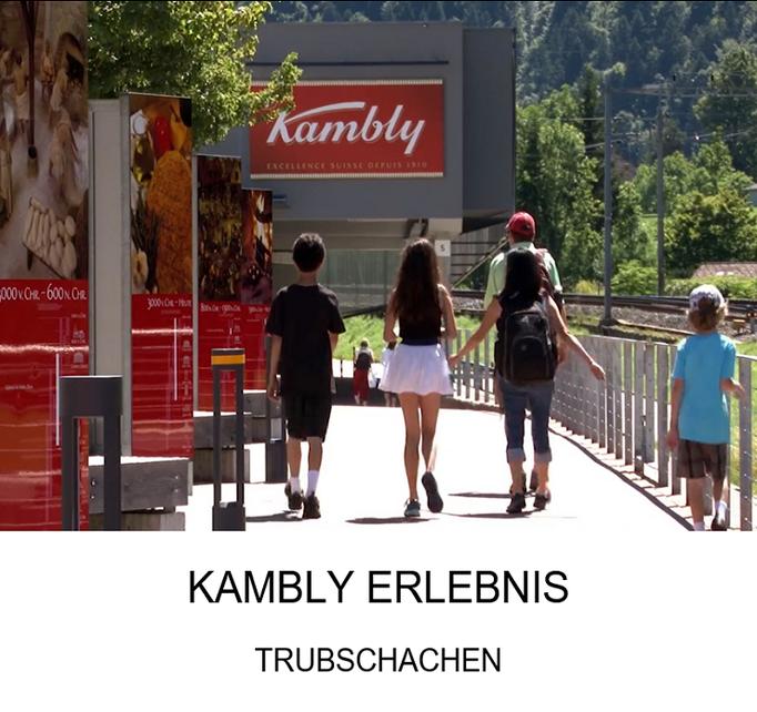 Ausflugsziel für die ganze Familie: Kambly Erlebnis