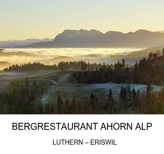 Ausflugsziel: Bergrestaurant Alp Ahorn