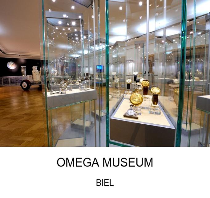Ausflugsziel Kanton Bern: Omega Museum
