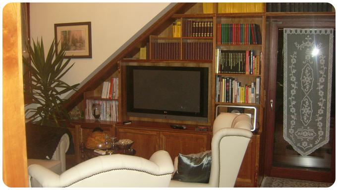 die Dachschräge - der perfekten Kandidaten für Ihre Hausbibliothek