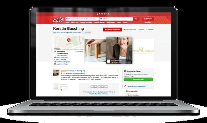 Kerstin Busching – Psychologische Beratung | Coaching in Hamburg bei Yelp (ehem. Qype)