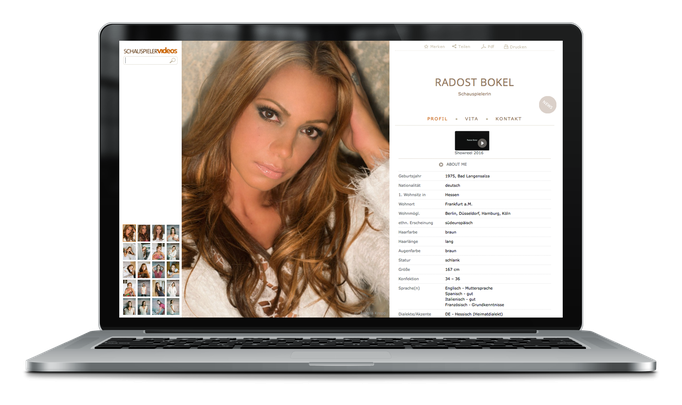 Radost Bokel – Schauspielerin bei schauspielervideos