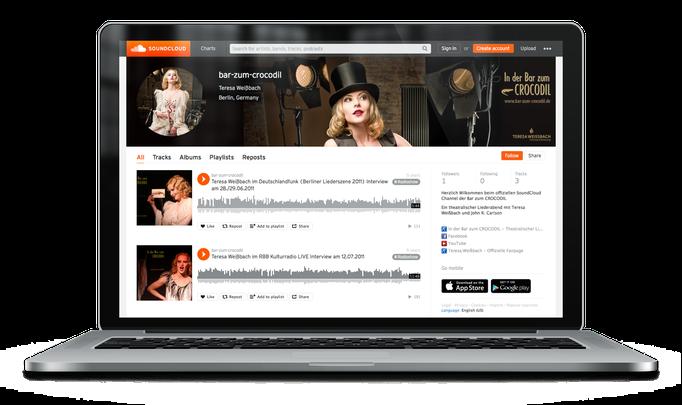 Teresa Weissbach - In der Bar zum CROCODIL bei SoundCloud