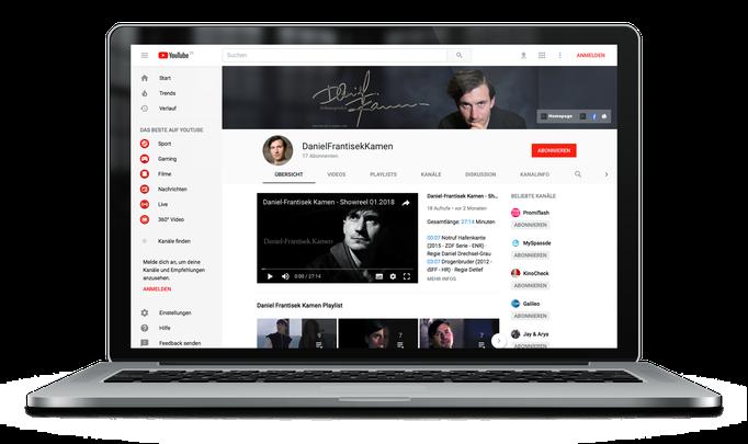 Daniel-Frantisek Kamen – Schauspieler bei YouTube