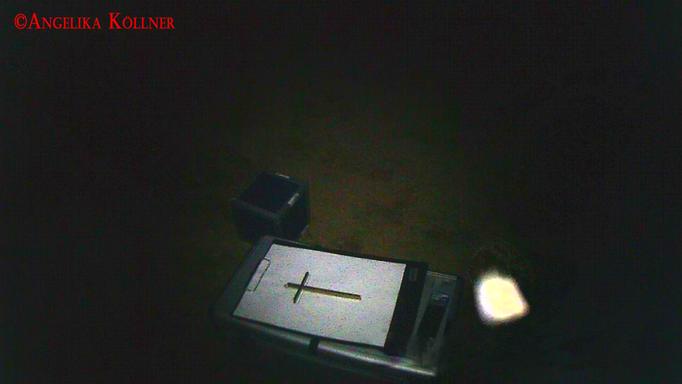Noch eine Aufnahme eines Insekten-Orbs. Im Video ist dies deutlich zu erkennen. #Ghosthunters #paranormal #Spuk