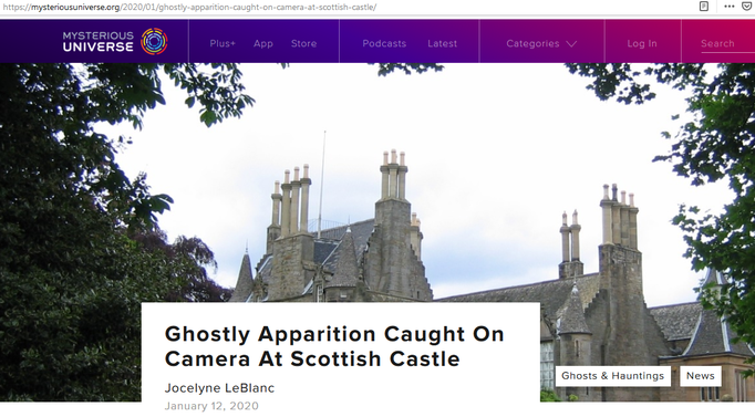 Headline Mysterious Universe #Lauriston #paranormal #ghost #ghosthunter