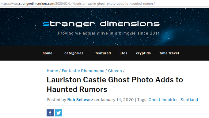 Headline Stranger Dimensions #Lauriston #paranormal #ghost #ghosthunter