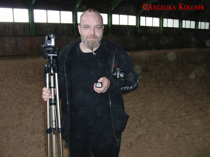 Sunny wieder bereit zum Equipment-Aufbau. #Ghosthunters #paranormal #Spuk