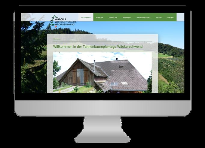 Tannenbaum Plantage Wäckerschwend - Sonma | Scheidegger Online Marketing - Ihr KMU-Partner für Webdesign und Social Media