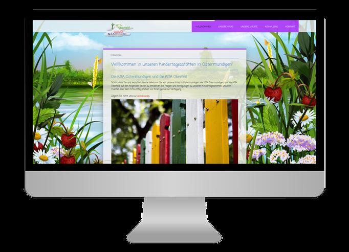Kita  Oberfeld Ostermundigen - Sonma | Scheidegger Online Marketing - Ihr KMU-Partner für Webdesign und Social Media