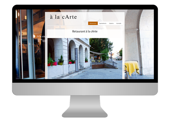 Restauran à la c'Arte Langenthal  - Sonma | Scheidegger Online Marketing - Ihr KMU-Partner für Webdesign und Social Media