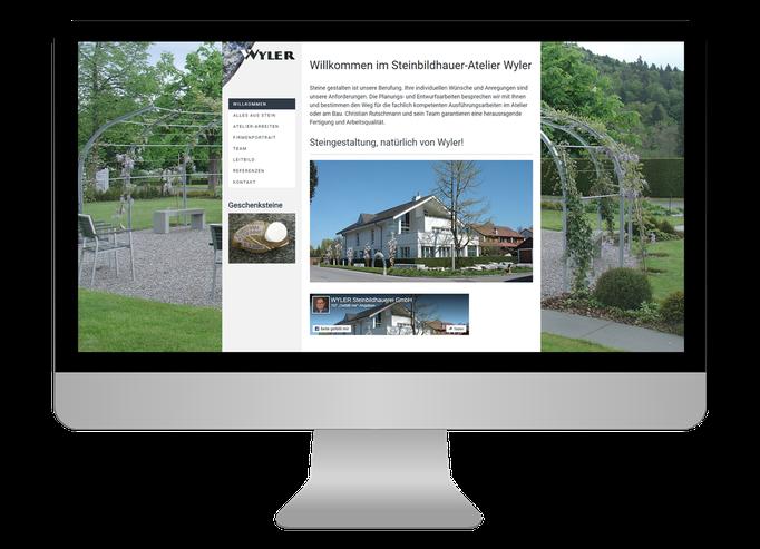 Wyler Steinbildhauerei GmbH Langenthal - Sonma | Scheidegger Online Marketing - Ihr KMU-Partner für Webdesign und Social Media