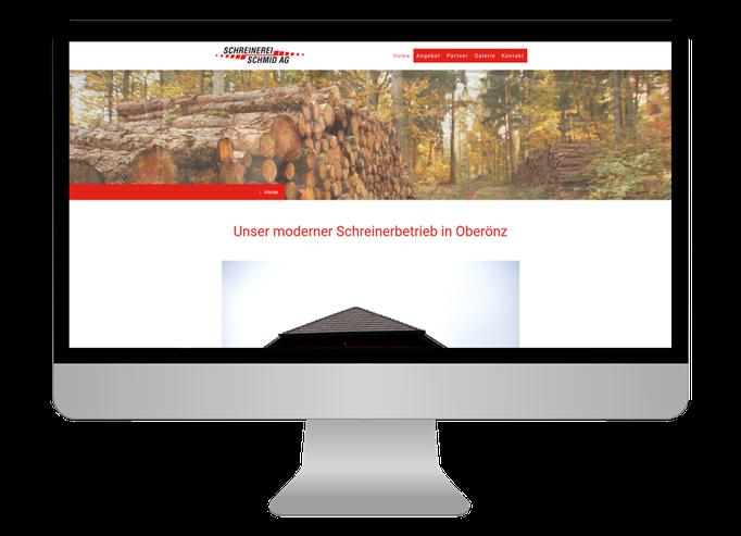 Schreinerei Schmid Oberönz  - Sonma | Scheidegger Online Marketing - Ihr KMU-Partner für Webdesign und Social Media