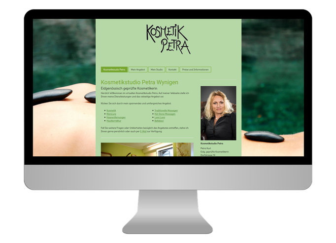 Kosmetik Petra Wynau  - Sonma | Scheidegger Online Marketing - Ihr KMU-Partner für Webdesign und Social Media