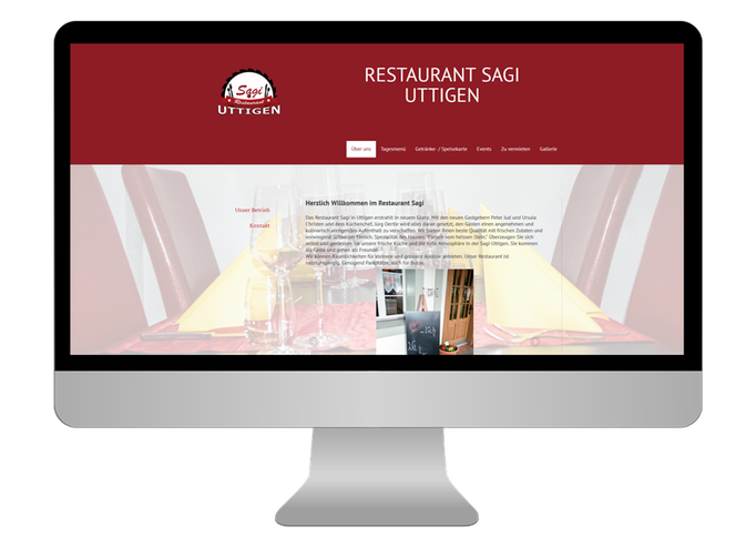 Restaurant Sagi Uttigen - Sonma | Scheidegger Online Marketing - Ihr KMU-Partner für Webdesign und Social Media