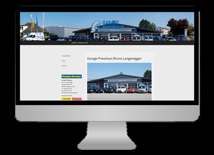 Garage Bruno Langenegger Herzogenbuchsee  - Sonma | Scheidegger Online Marketing - Ihr KMU-Partner für Webdesign und Social Media