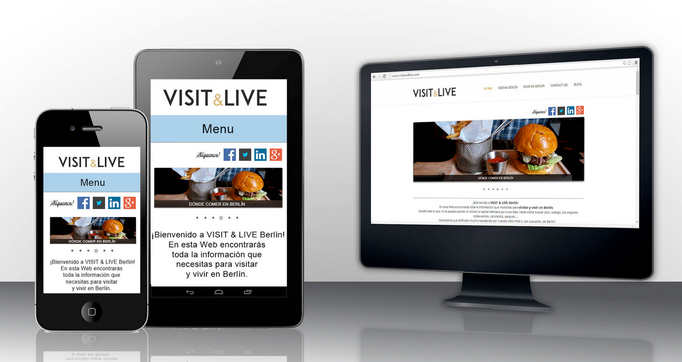 VISIT & LIVE (WEB DESIGN & SEO & SOCIAL MEDIA)