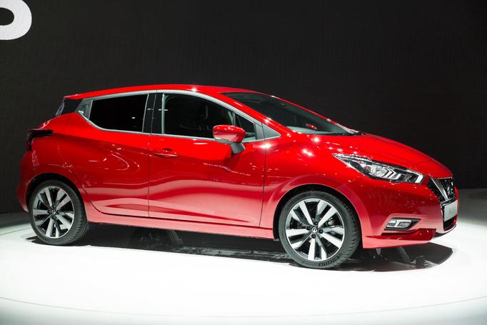 Nissan Micra 2017 Tekna rouge