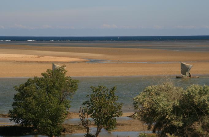 Le canal du Mozambique à TULEAR.
