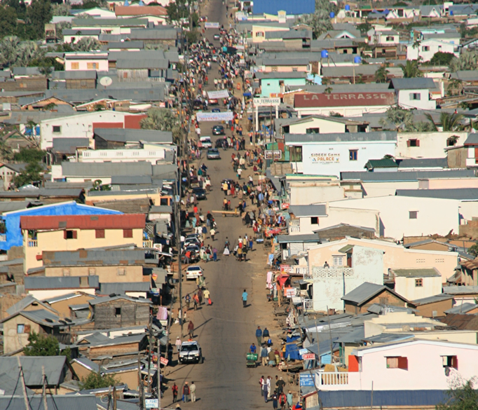 Ville western de RANOHIRA.
