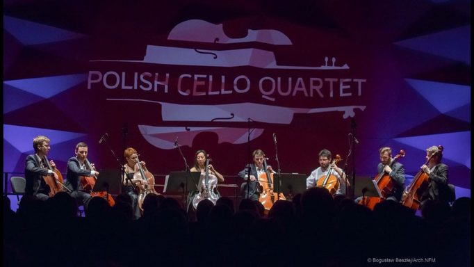 National Forum of Music in Wroclaw 2017 - Cello Octet: Hyun-Jung Berger, Jelena Očić, Mats Lidström, Roberto Trainini & Polish Cello Quartet