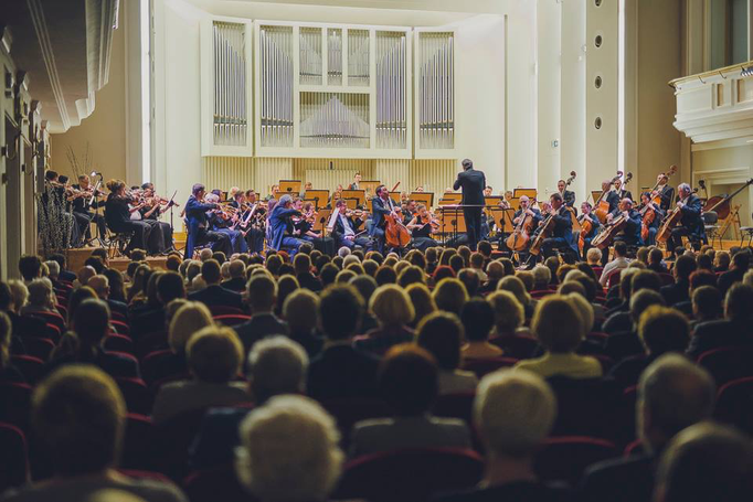 Silesian Philharmonic Orchestra conducted by Mykola Diadiura - Katowice 2017
