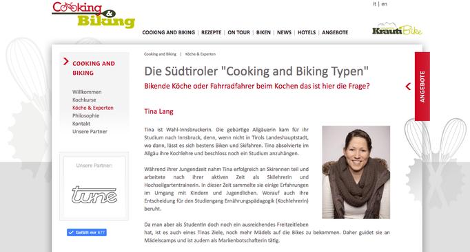 Cooking & Biking