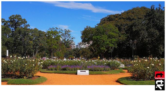 Rosedal de Palermo Buenos Aires
