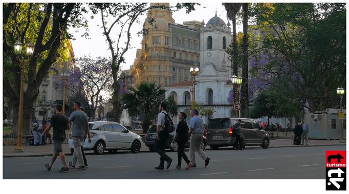 Cabildo de Buenos Aires. Centro Histórico de la Ciudad