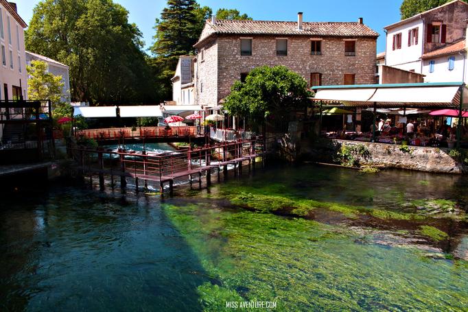 Fontaine de Vaucluse;