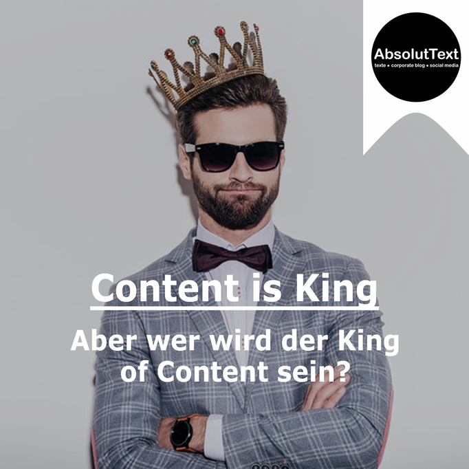 Social Media - Content is King. Aber wer wird der King of Content sein?