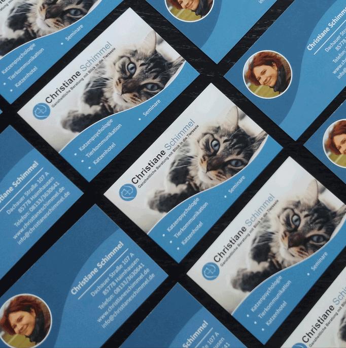 Visitenkarten für Christiane Schimmel
