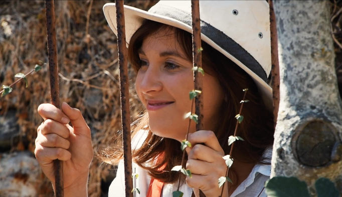 Ella Cook as Miranda, on the island to search for her biological parents.