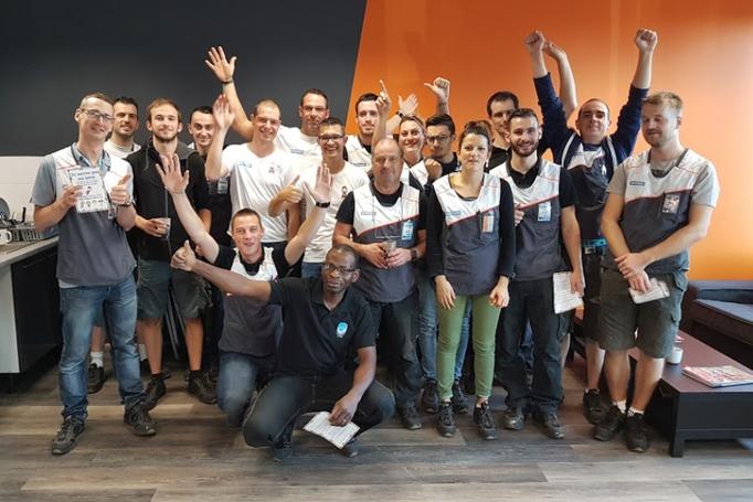 Notre visite à l'atelier Décathlon de Lyon