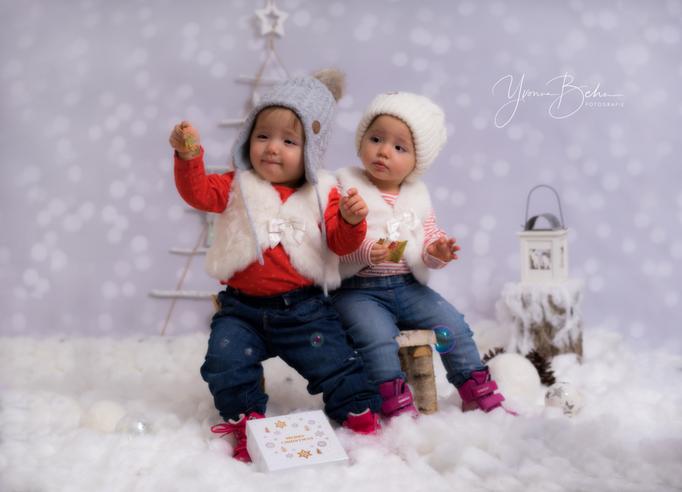 Zwillingsshooting Weihnachten