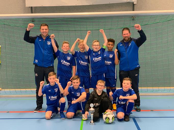 Sieger E-Jugend: Blau Weiß Borssum