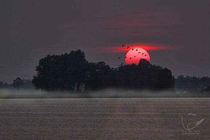 Sonnenuntergang am Beulakerwijde