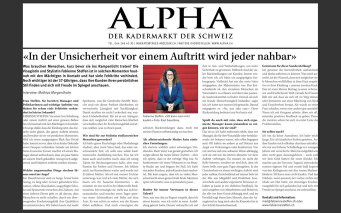 Beruf + Berufung: Mathias Morgenthaler