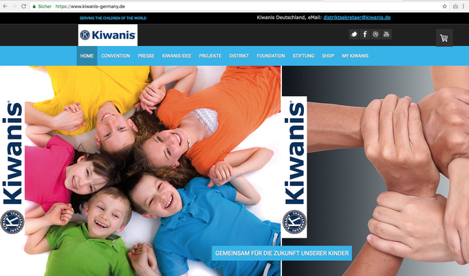 Kiwanis-Deutschland Webseite