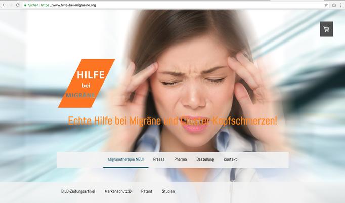 https://www.hilfe-bei-migraene.org / Webseite
