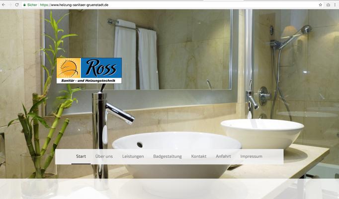 Martin Ross Heizung Sanitär Webseite / https://www.heizung-sanitaer-gruenstadt.de/