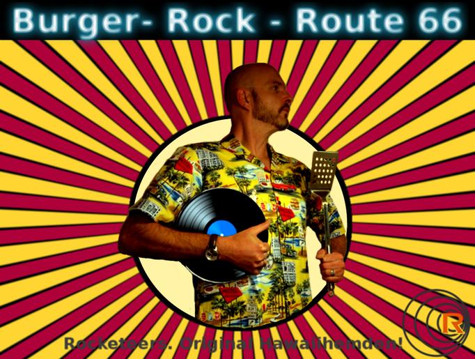 Original Hawaiihemd von Rocketeers!  Route 66