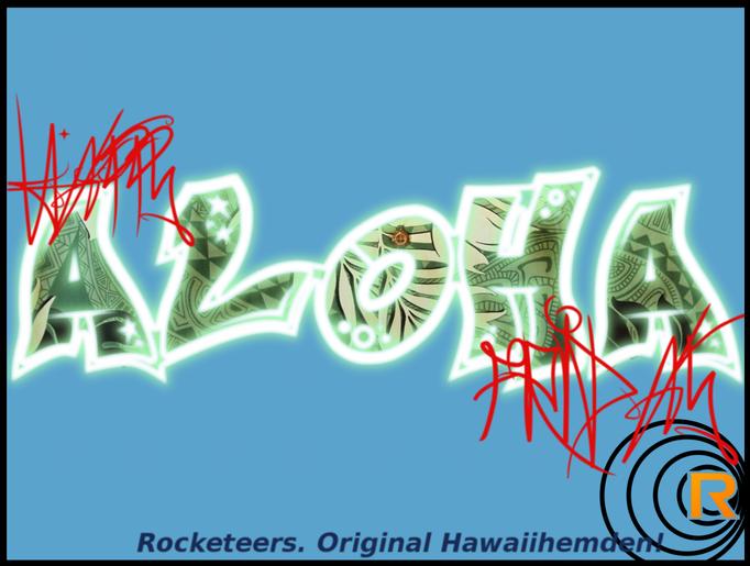 Original Hawaiihemd von Rocketeers!