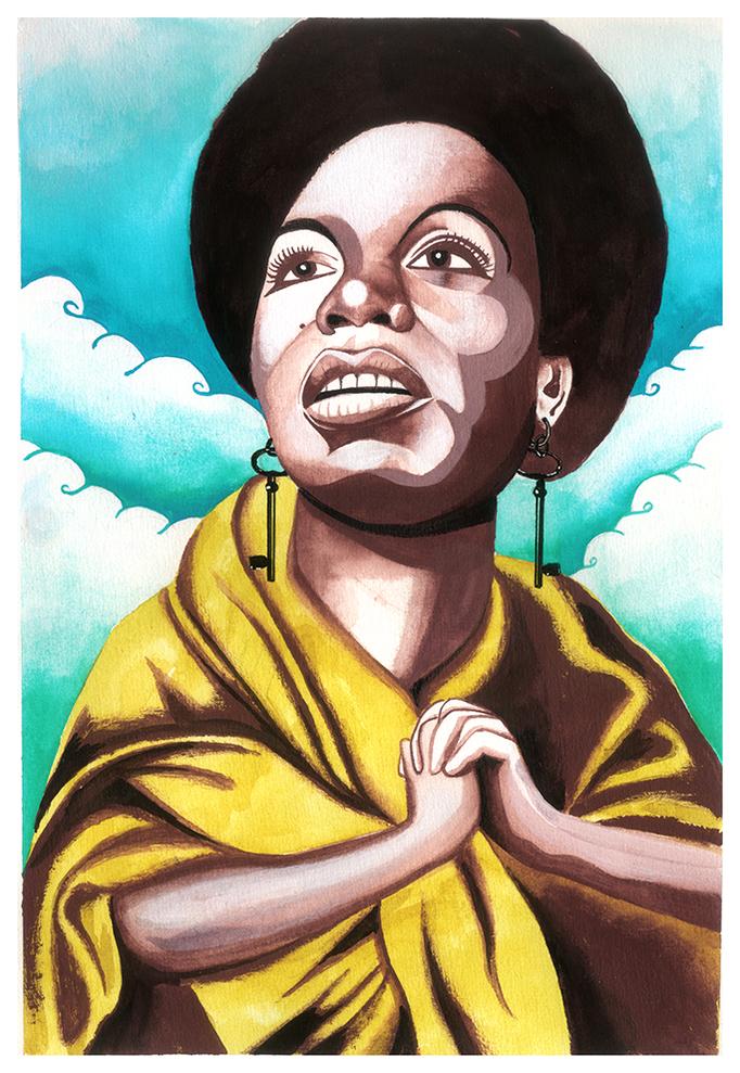 Saint Peter. Nina Simone